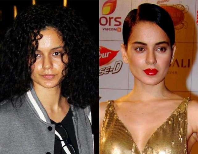 Bollywood-Actress-Without-Makeup-Kangana