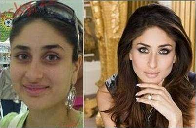 Bollywood Actress Without Makeup Kareena