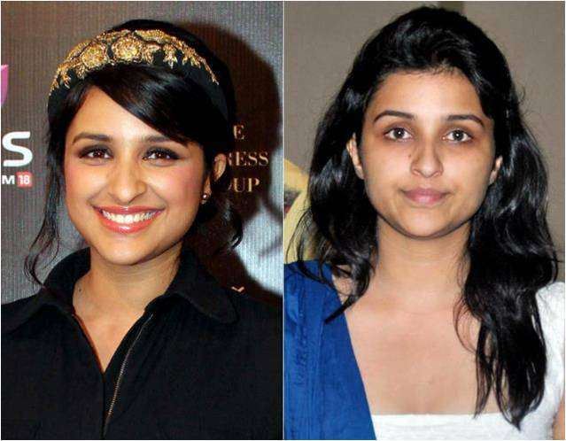 Bollywood Actress Without Makeup Parineeti
