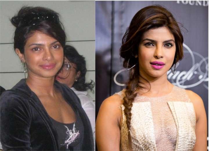 Bollywood Actress Without Makeup priyanka chopra