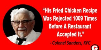 Colonel Sanders Story KFC Never Give Up