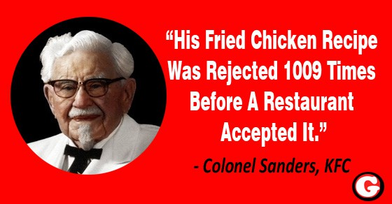 Colonel Sanders Story A Man Who Never Gave Up Until Kfc Happened