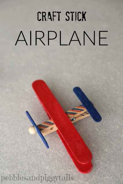 Fun-Crafts-for-Kids-DIY-craft-stick-airplane