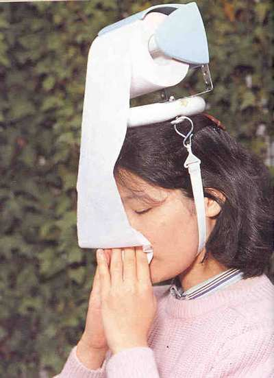 Funny Crazy Weird Japanese Inventions Mobile Toilet paper