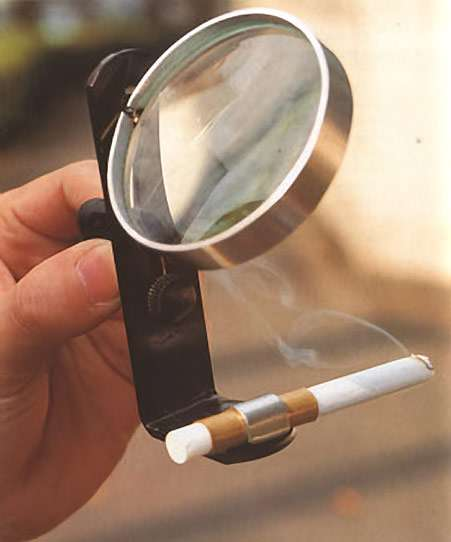 Funny Crazy Weird Japanese Inventions Solar Cigarette