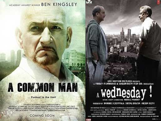Hollywood-Movies-Copied-From-Bollywood-a-common-man-a-wednesday