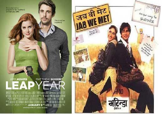 Hollywood-Movies-Copied-From-Bollywood-leap-year-jab-we-met