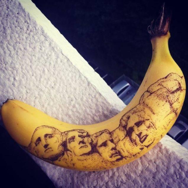 Japanese Banana Art (6)