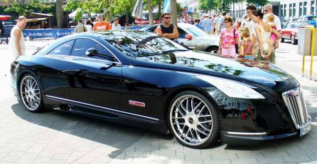 Most Expensive Cars Mercedes Benz Maybach Exelero 1