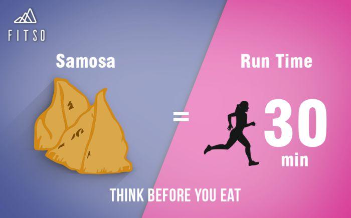 Think Before You Eat Samosa