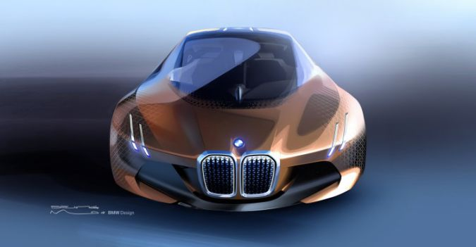 Bmw Concept Car Vision Next 100 Is A Future Luxury Car