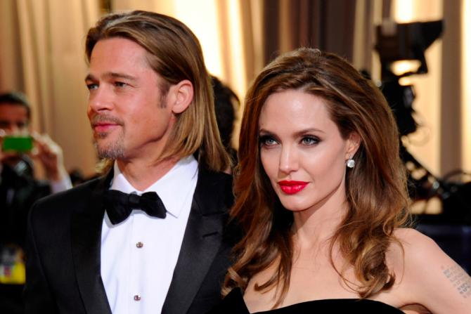 Famous Celebrity Couples Brad Pitt Angelina Jolie