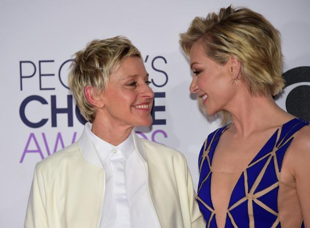 Famous-Celebrity-Couples-Ellen-Degeneres-Portia-De-Rossi