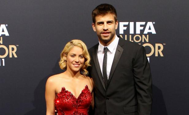 Famous Celebrity Couples Shakira Pique