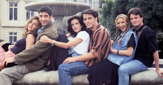 Friends Cast Now And Then 1