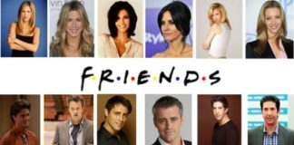 Friends Cast Now And Then