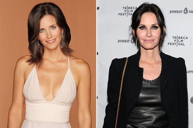 Friends-Cast-Now-And-Then-Courteney-Cox