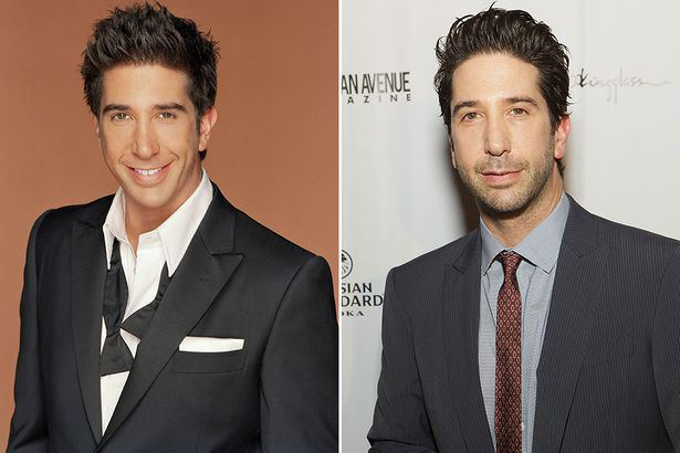 Friends Cast Now  And Then David Schwimmer