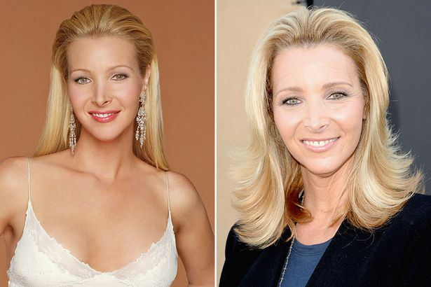 Friends Cast Now  And Then Lisa Kudrow