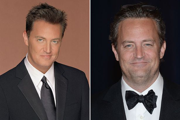 Friends Cast Now And Then Matthew Perry