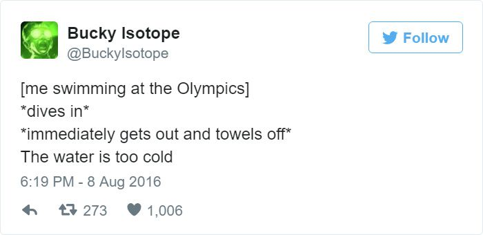 Funniest Tweets Rio Olympics