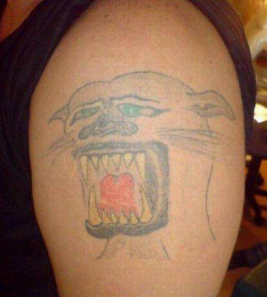 Funny Tattoo Fails Lion