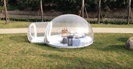 ... Inflatable-Bubble-Tent & This Incredible Inflatable Bubble Tent Will Let You Sleep Under ...