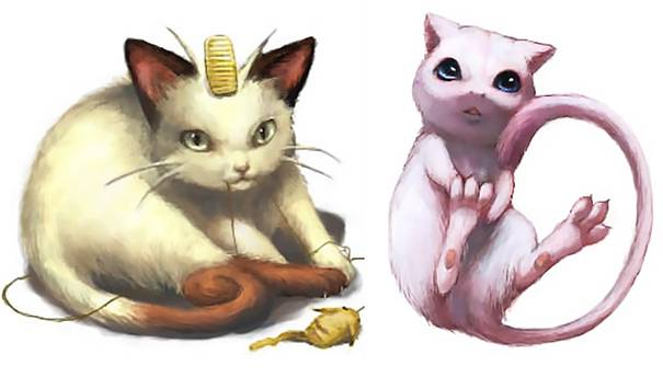 Real-Life-Pokemons-Go-Meowth-and-Mew