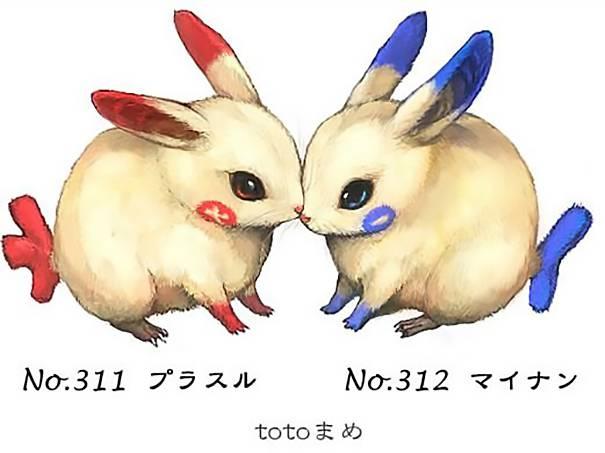 Real-Life-Pokemons-Go-Plusle-and-Minun