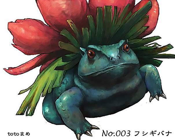 Real Life Pokemon Go Venusaur