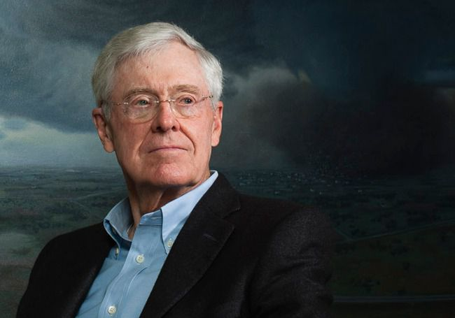 Richest People In The World Charles Koch