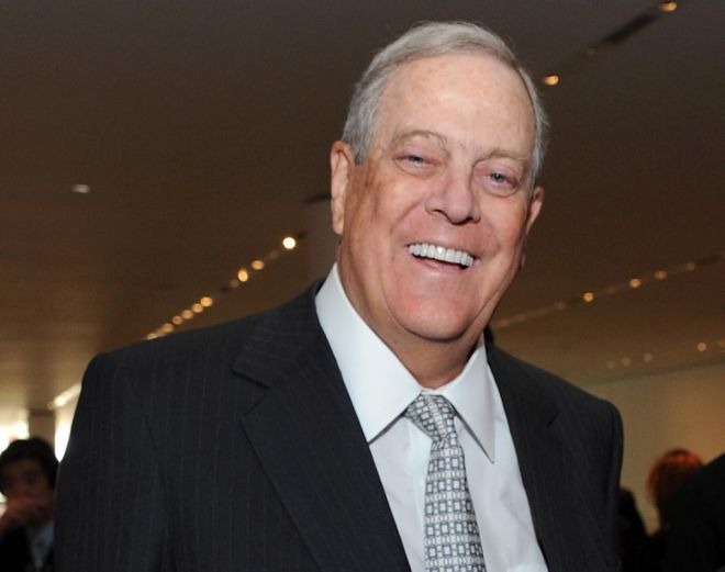 Richest People In The World David Koch