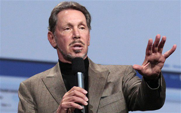Richest People In The World Larry Ellison