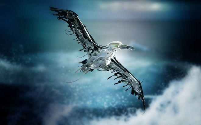 Sayaka Ganz Recycled Art Eagle