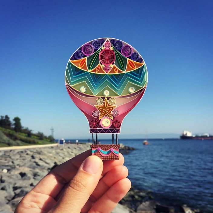 Sena-Runa-Paper-Artist-Air-Balloon