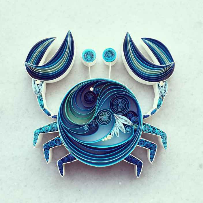 Sena-Runa-Paper-Artist-Crab