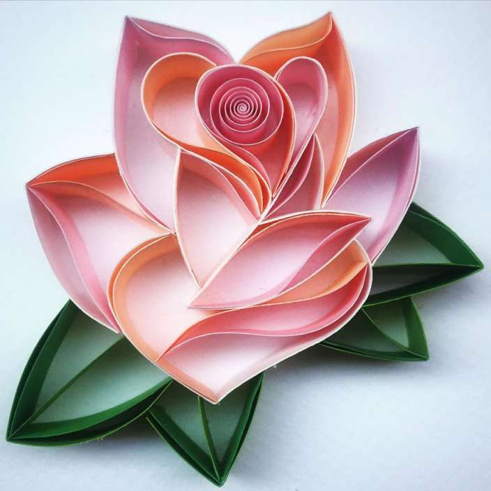 Paper art flower romeondinez paper art flower mightylinksfo