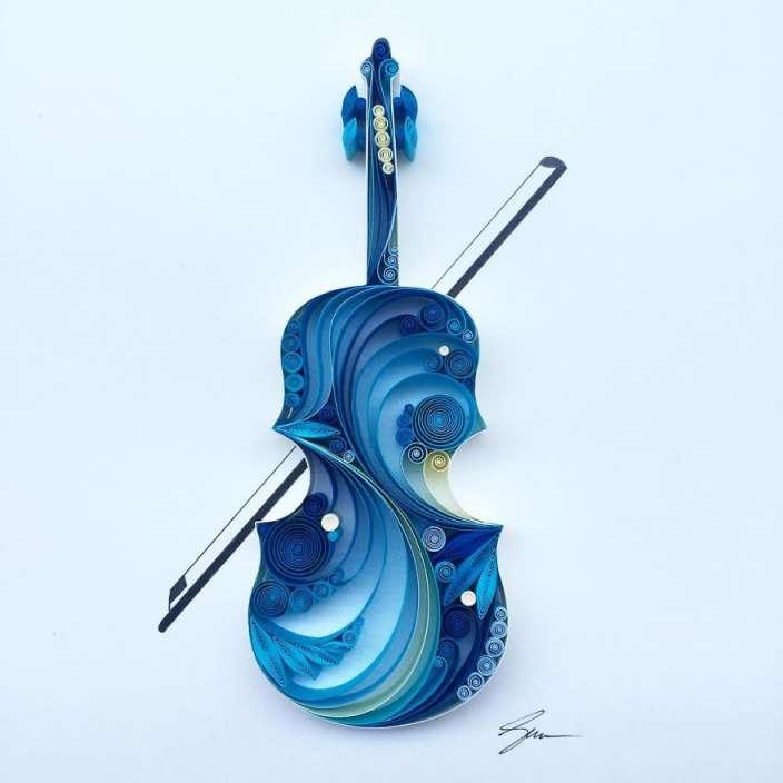 Sena-Runa-Paper-Artist-Violin