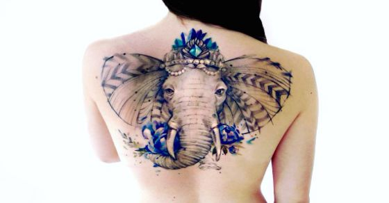 Beautiful Nature Tattoos