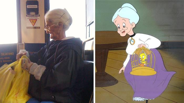 cartoon-look-alikes-granny