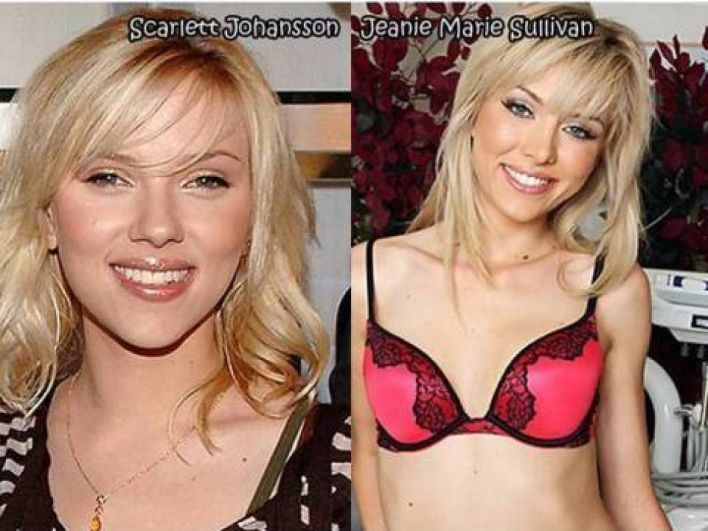 celebrity porn look alike