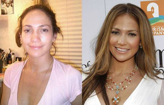 Celebrities-Without-MakeUp-Jennifer-Lopez