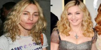 Celebrities Without MakeUp Madonna