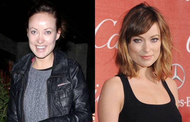 Celebrities Without MakeUp Olivia Wilde