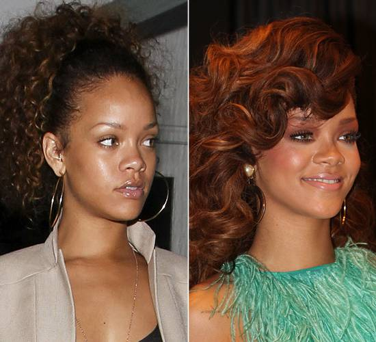 Celebrities-Without-MakeUp-Rihanna
