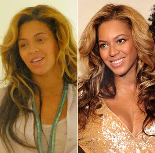 Celebrities-Without-MakeUp-beyonce