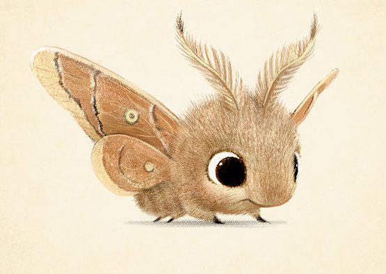 Cute-Animal-Illustrations-Butterfly-Syndey-Hanson