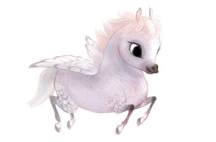Cute-Animal-Illustrations-Unicorn-Syndey-Hanson