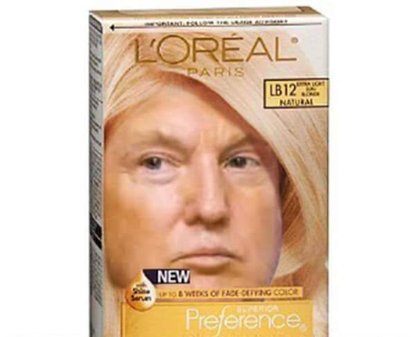 Donald-Trump-Memes-funny-Loreal