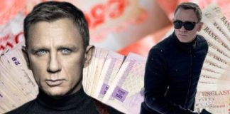 James Bond Daniel Craig Money